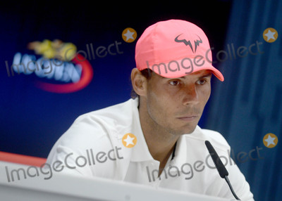 Rafael Nadal Photo - Photo by Dennis Van TineSTAR MAXIPx201782617Rafael Nadal at a press conference for The US Open in New York City