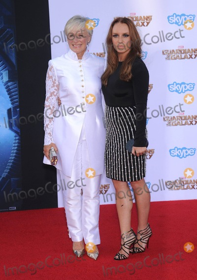 Annie Starke Photo - Photo by KGC-11starmaxinccomSTAR MAX2014ALL RIGHTS RESERVEDTelephoneFax (212) 995-119672114Glenn Close and Annie Starke at the premiere of Guardians Of The Galaxy(Hollywood CA)