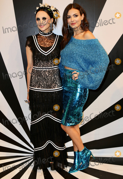 Alice and Olivia Photo - Photo by Nancy RiverastarmaxinccomSTAR MAXCopyright 2018ALL RIGHTS RESERVEDTelephoneFax (212) 995-119691118Stacey Bendet and Victoria Justice at the Alice and Olivia SS19 Fashion Presentation during New York Fashion Week in New York City(NYC)