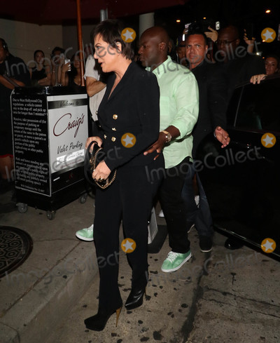 Corey Gamble Photo - Photo by gotpapstarmaxinccomSTAR MAX2018ALL RIGHTS RESERVEDTelephoneFax (212) 995-11968918Corey Gamble and Kris Jenner are seen in Los Angeles CA