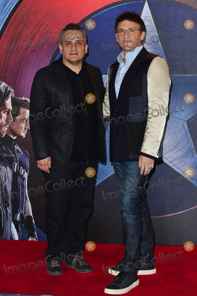 Anthony Russo Photo - Photo by KGC-49starmaxinccomSTAR MAX2016ALL RIGHTS RESERVEDTelephoneFax (212) 995-119642516Joe Russo and Anthony Russo at the premiere of Captain America Civil War(London England)