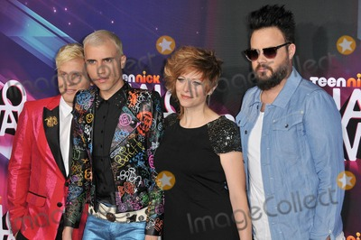 Galactic Photo - Photo by Galacticstarmaxinccom2012ALL RIGHTS RESERVEDTelephoneFax (212) 995-1196111712The Neon Trees at the TeenNick Halo Awards(Los Angeles CA)