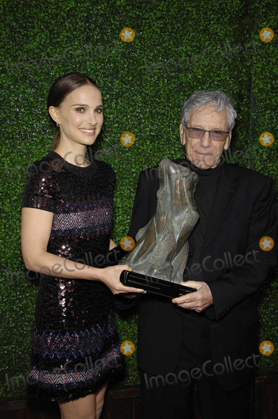 Amos Oz Photo - Photo by Michael GermanastarmaxinccomSTAR MAX2015ALL RIGHTS RESERVEDTelephoneFax (212) 995-11965515Natalie Portman and Amos Oz at The UCLA Younes  Soraya Nazarian Center For Israel Studies Fifth Annual Gala(NYC)