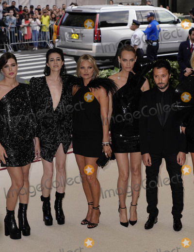 Charlotte Gainsbourg Photo - Photo by zzXPXstarmaxinccomSTAR MAXCopyright 2018ALL RIGHTS RESERVEDTelephoneFax (212) 995-11965718Charlotte Casiraghi Charlotte Gainsbourg Kate Moss Amber Valletta and Anthony Vaccarello at the 2018 Costume Institute Benefit Gala celebrating the opening of Heavenly Bodies Fashion and the Catholic Imagination(The Metropolitan Museum of Art NYC)