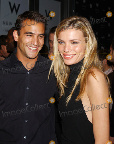 Enrique Palacio Photo - Photo by Walter WeissmanSTAR MAX Inc - copyright 200221202Esther Canadas and Enrique Palacio attend the opening of W New York Times Square Hotel(NYC)