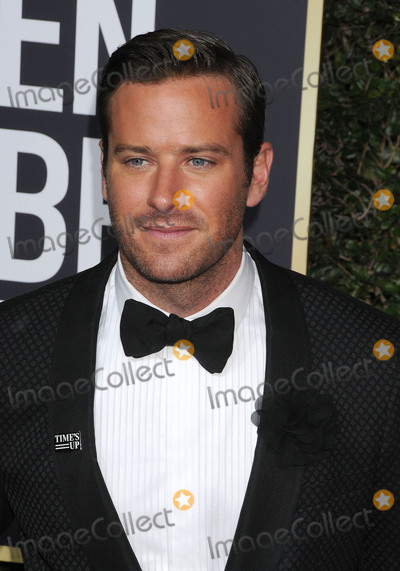 Armie Hammer Photo - Photo by GalaxystarmaxinccomSTAR MAXCopyright 2018ALL RIGHTS RESERVEDTelephoneFax (212) 995-11961718Armie Hammer at the 75th Annual Golden Globe Awards(Beverly Hills CA)s