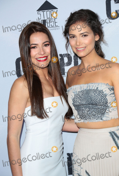 El Chapo Photo - Photo by gotpapstarmaxinccomSTAR MAXCopyright 2017ALL RIGHTS RESERVEDTelephoneFax (212) 995-119641917Juliette Pardau and Abril Schreiber at the premiere of El Chapo(Los Angeles CA)