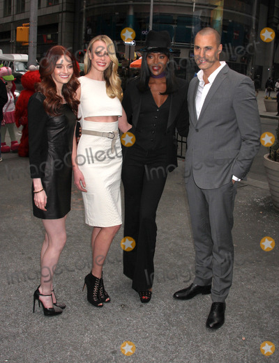 ANN V Photo - Photo by KGC-146starmaxinccomSTAR MAX2014ALL RIGHTS RESERVEDTelephoneFax (212) 995-11963514Lydia Hearst Anne V Naomi Campbell and Nigel Barker at a promotional event for The Face(NYC)