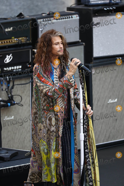 Aerosmith Photo - Photo by John NacionstarmaxinccomSTAR MAX2018ALL RIGHTS RESERVEDTelephoneFax (212) 995-119681518Aerosmith (Steven Tyler Joe Perry Brad Whitford and Joey Kramer) performs on NBCs Today in New York City