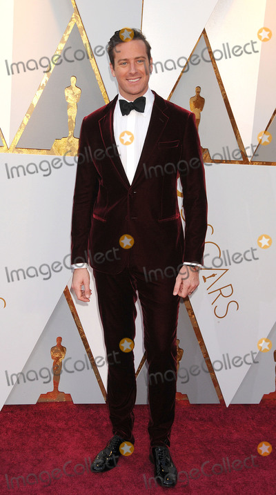 Armie Hammer Photo - Photo by GalaxystarmaxinccomSTAR MAXCopyright 2018ALL RIGHTS RESERVEDTelephoneFax (212) 995-11963418Armie Hammer at the 90th Annual Academy Awards (Oscars) presented by the Academy of Motion Picture Arts and Sciences(Hollywood CA USA)