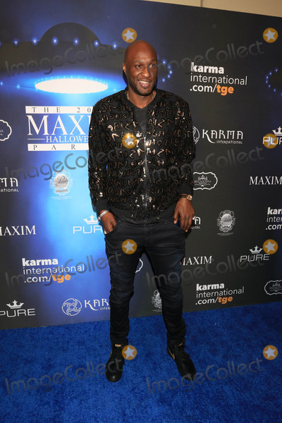Lamar Odom Photo - Photo by gotpapstarmaxinccomSTAR MAX2017ALL RIGHTS RESERVEDTelephoneFax (212) 995-1196102117Lamar Odom at The 2017 Maxim Halloween Party in Los Angeles CA