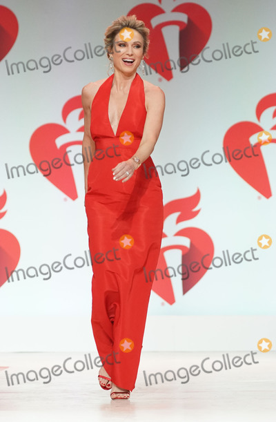 Amy Robach Photo - Photo by zzJohn NacionstarmaxinccomSTAR MAXCopyright 2019ALL RIGHTS RESERVEDTelephoneFax (212) 995-11962719Amy Robach on the runway at The American Heart Associations Go Red For Women Red Dress Collection Fashion Show during New York Fashion Week in New York City(NYC)
