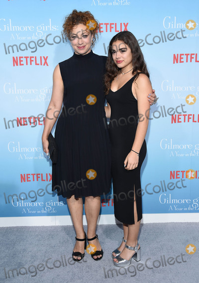 Alex Kingston Photo - Photo by KGC-11starmaxinccomSTAR MAX2016ALL RIGHTS RESERVEDTelephoneFax (212) 995-1196111816Alex Kingston and Salome Haertel at Netflixs Gilmore Girls A Year In The Life Premiere held at the Fox Bruin Theater Los Angeles CA