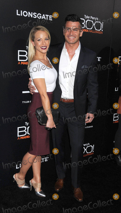 Amanda Clayton Photo - Photo by GalaxystarmaxinccomSTAR MAX2016ALL RIGHTS RESERVEDTelephoneFax (212) 995-1196101716Amanda Clayton and Aidan Turner at Tyler Perrys Boo A Madea Halloween Premiere in Hollywood CA