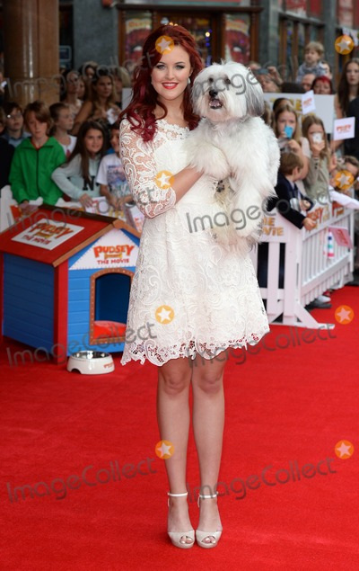Ashleigh Butler Photo - Photo by DPAADstarmaxinccomSTAR MAX2014ALL RIGHTS RESERVEDTelephoneFax (212) 995-119671314Pudsey and trainer Ashleigh Butler at the premiere of Pudsey The Dog The Movie(London England)