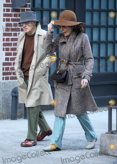 As Yet Photo - Photo by Dennis Van TinestarmaxinccomSTAR MAXCopyright 2016ALL RIGHTS RESERVEDTelephoneFax (212) 995-11963716Woody Allen and Elaine May on the set of the as yet untitled Woody Allen Television Series Production for Amazon Studios(NYC)