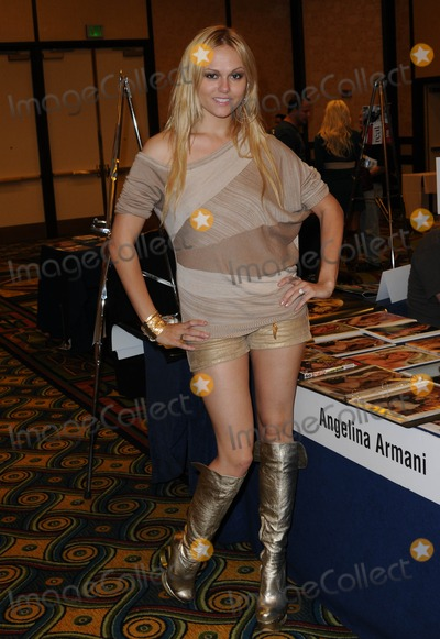 Angelina Armani Photo - LOS ANGELES CA - OCTOBER 1 Angelina Armani at the Sign of the Times Convention held at LAX Marriott Hotel on Saturday October 1 2011  in Lo Angeles California  (Albert L OrtegaImageCollectcom)