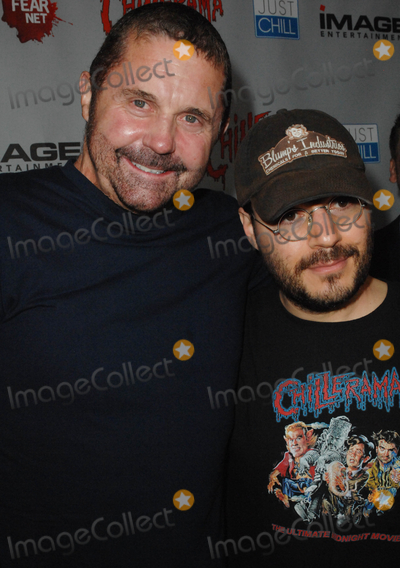 Adam Rifkin Photo - HOLLYWOOD CA - SEPTEMBER 15 Actor Kane Hodder and director Adam Rifkin at the World Premiere of Chillerama at Hollywood Forever Cemetary on September 15 2011  in Hollywood California  (Albert L OrtegaImageCollectcom)