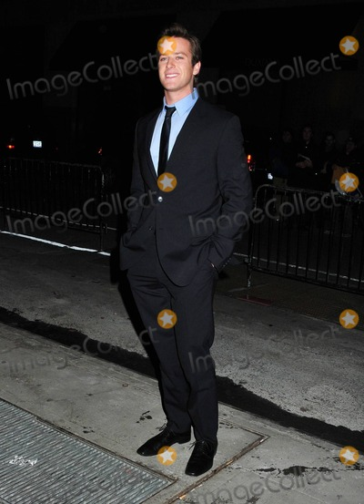 Armie Hammer Photo - Armie Hammer at the 2010 New York Film Critics Circle Awards at Crimson New York NY 11011