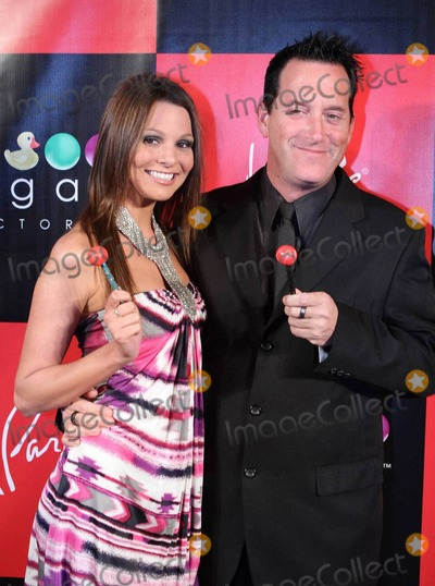 Anthony Cools Photo - Anthony Cools and Ashley Miele pose for photographers at the grand opening of the Sugar Factory American Brasserie held at Paris Las Vegas Hotel  Casino Las Vegas NV 030411