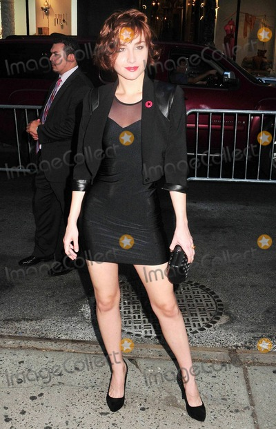 Allison Scagliotti Photo - Allison Scagliotti poses outside of the AMC Loews 19th Street theater for the Cinema Society Screening of The Romantics starring Katie Holmes Anna Paquin and Josh Duhamel The romantic comedy can be seen in theaters on September 10th  New York NY 090710