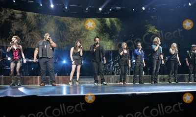 Andrew Garcia Photo - Siobhan Magnus Michael Lynch Katie Stevens Lee DeWyze Crystal Bowersox Aaron Kelly Casey James Didi Benami and Andrew Garcia (L-R) perform in concert as part of the American Idol 2010 tour at the BankAtlantic Center in Sunrise FL 8310