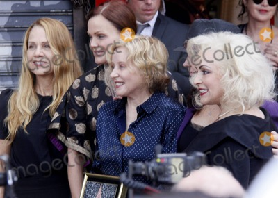 Kathy Valentine Photo - Charlotte Caffey Belinda Carlisle Gina Schock Kathy Valentine and Jane Wiedlin of the band The Go-Gos at the Go-Gos Hollywood Walk of Fame Induction Ceremony in Hollywood CA  11th August 2011