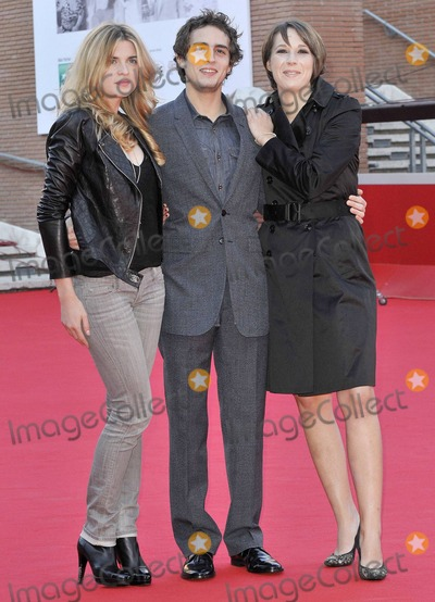 Cecile Cassel Photo - (L-R) Actress Cecile Cassel Benjamin Siksou and director Audrey Estrougo attend the photo call for Leila held at Auditorium Parco Della Musica during the 5th International Rome Film Festival Rome ITA 102810