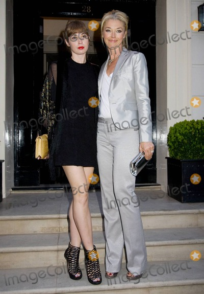Anouska Beckwith Photo - Anouska Beckwith and Tamara Beckwith arrive at Mortons Club in London to celebrate with German tennis star Boris Becker and his family  Becker threw the party to celebrate the 25th anniversary of his first win at prestigious Wimbledon which is said to be the oldest tennis tournament in the world  The 2010 Wimbledon Championship is currently under way London UK 062910