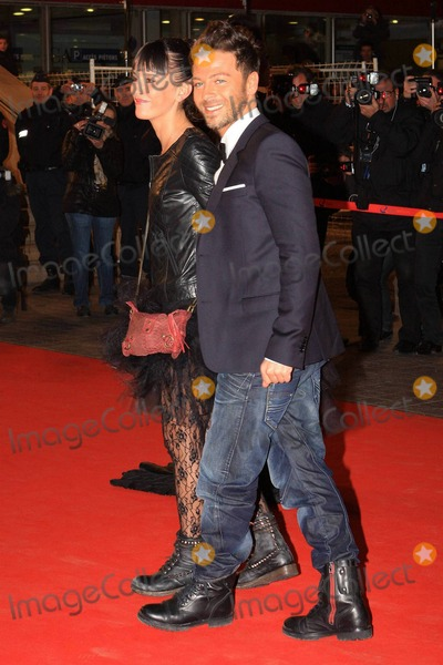 Nadege Photo - French pop singer Christophe Mae (R) and Nadege attend the 12th annual NRJ Music Awards held at the Palais des Festivals et des Congrs Cannes FR 012211