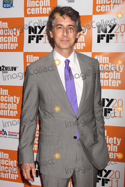 Alexander Payne Photo - Director Alexander Payne Arriving at the 49th Annual New York Film Festival Closing Night Gala Screening of the Descendants at Lincoln Centers Alice Tully Hall in New York City on 10-16-2011 Photo by Henry Mcgee-Globe Photos Inc 2011
