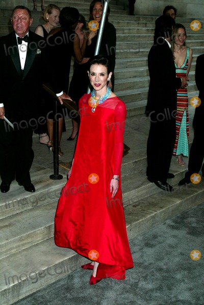 Amy Fine Collins Photo - Amy Fine Collins at the 2003 Cfda Fashion Awards at the New York Public Library in New York City on June 2 2003 Photo Henry McgeeGlobe Photos Inc 2003 K309