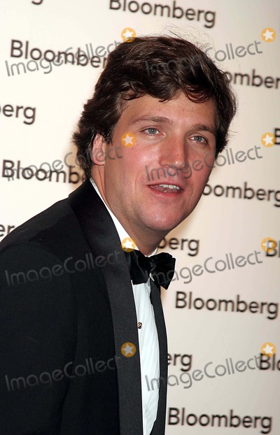 Tucker Carlson Photo - Tucker Carlson Arriving at the Bloomberg News Party After the White House Correspondents Dinner in Washington DC on 04-30-2005 Photo by Henry McgeeGlobe Photos Inc 2005