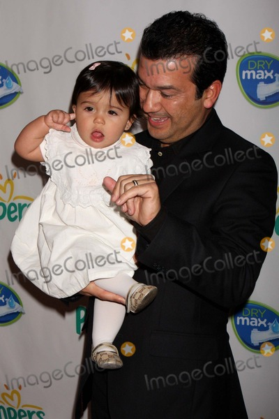 Barbara Bermudo Photo - Mario Andres Moreno (Husband of Barbara Bermudo) with Daughter Mia Andrea Arriving at Launch of Pampers Swaddlers and Cruisers with Dry Max at Helen Mills in New York City on 03-18-2010 Photo by Henry Mcgee-Globe Photos Inc 2010