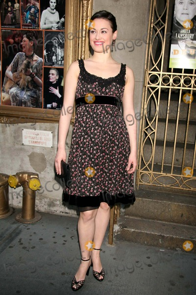 ASHLEY BROWN Photo - Ashley Brown Arriving at the Opening Night Performance of Deuce at the Music Box Theatre in New York City on 05-06-2007 Photo by Henry McgeeGlobe Photos Inc 2007