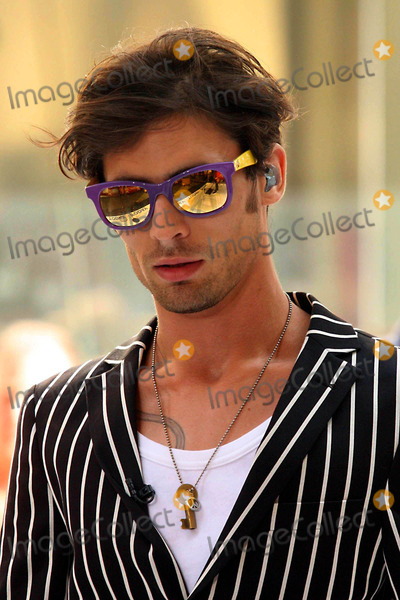 All-American Rejects Photo - Tyson Ritter of the All-american Rejects Performing on Nbcs Today Show Toyota Concert Series at Rockefeller Plaza in New York City on 07-17-2009 Photo by Henry Mcgee-Globe Photos Inc 2009
