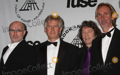 Mike Rutherford Photo - Genesis (Phil Collins Tony Banks Steve Hackett and Mike Rutherford) at the 25th Annual Induction Ceremony of the Rock and Roll Hall of Fame Foundation at the Waldorf-astoria in New York City on 03-15-2010 Photo by Henry Mcgee-Globe Photos Inc 2010