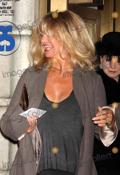 Goldie Photo - Goldie Hawn Arriving at the Opening Night Performance of Exit the King at the Ethel Barrymore Theatre in New York City on 03-26-2009 Photo by Henry Mcgee-Globe Photos Inc 2009