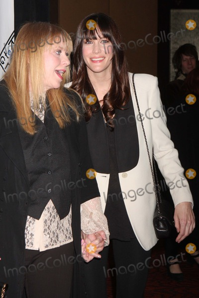 Bebe Buell Photo - Bebe Buell and Liv Tyler Arriving at the Room to Grow Gala at the Mandarin Oriental in New York City on 02-06-2012 Photo by Henry Mcgee-Globe Photos Inc 2012