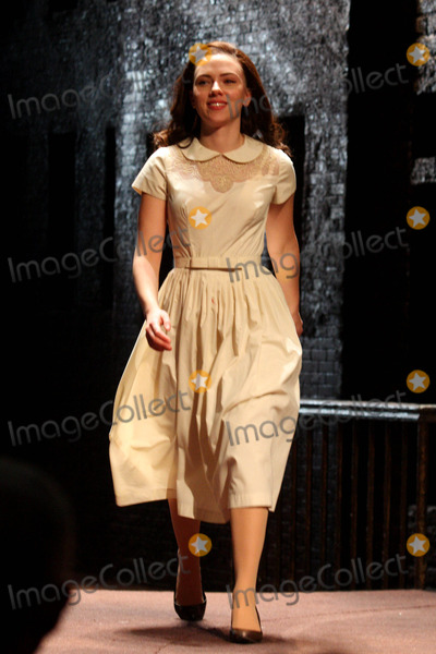 Arthur Miller Photo - Scarlett Johansson Taking Her Opening Night Curtain Call at Arthur Millers a View From the Bridge at the Cort Theatre in New York City on 01-24-2010 Photo by Henry Mcgee-Globe Photos Inc 2010