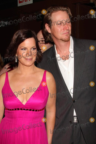 Thaddaeus Scheel Photo - Marcia Gay Harden and Husband Thaddaeus Scheel Arriving at the 54th Annual Drama Desk Awards at Fh Laguardia Concert Hall at Lincoln Center in New York City on 05-17-2009 Photo by Henry Mcgee-Globe Photos Inc 2009