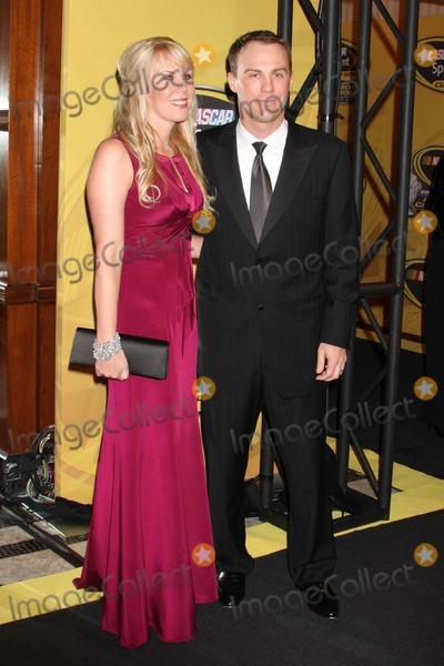 Kevin Harvick Photo - New York NY 12-05-2008Kevin Harvick and wife Delana HarvickNASCAR Sprint Cup Series Awards Ceremony at Waldorf AstoriaDigital photo by Lane Ericcson-PHOTOlinknet
