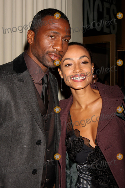 August Wilson Photo - Leon Robinson and Guest Arriving at the Opening Night Performance of August Wilsons Fences at the Cort Theatre in New York City on 04-26-2010 Photo by Henry Mcgee-Globe Photos Inc 2010