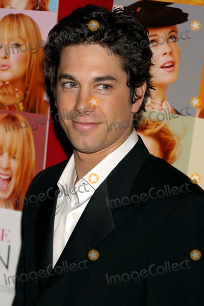 Adam Garcia Photo - Adam Garcia Arriving at the Premiere of Confessions of a Teenage Drama Queen at Loews E-walk Theater in New York City on February 17 2004 Photo by Henry McgeeGlobe Photos Inc 2004