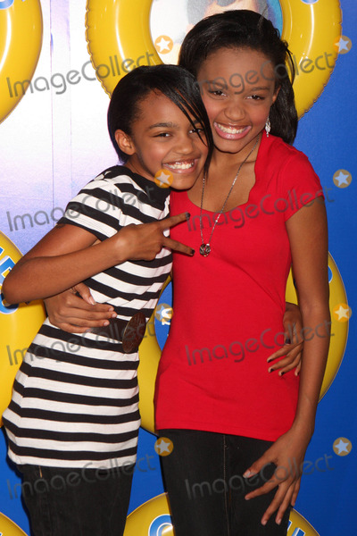 China McClain Photo - China Anne Mcclain and Guest Arriving at a Screening of Columbia Pictures Grown Ups at the Ziegfeld Theater in New York City on 06-23-2010 Photo by Henry Mcgee-Globe Photos Inc 2010