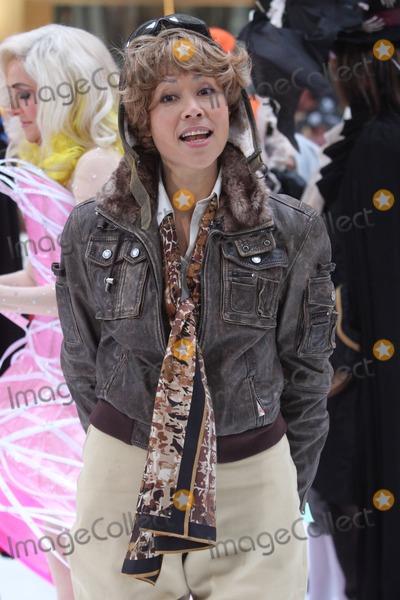 Amelia Earhart Photo - New York NY 10-29-2010Ann Curry (dressed as Amelia Earhart) on NBCs TODAY Show annual Halloween celebration outside on Rockefeller PlazaDigital photo by Lane Ericcson-PHOTOlinknet
