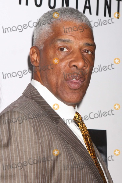 Julius (Dr J) Erving Photo - Julius Dr J Erving Arriving at the Opening Night Performance of the Mountaintop at the Bernard B Jacobs Theatre in New York City on 10-13-2011 Photo by Henry Mcgee-Globe Photos Inc 2011