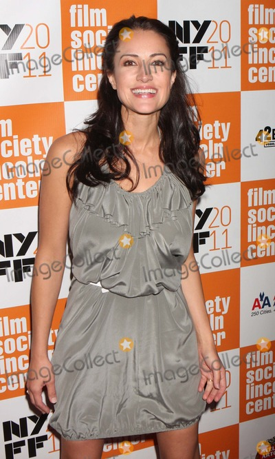 America Olivo Photo - America Olivo Arriving at the 49th Annual New York Film Festival Screening of Martha Marcy May Marlene at Lincoln Centers Alice Tully Hall in New York City on 10-11-2011 Photo by Henry Mcgee-Globe Photos Inc 2011