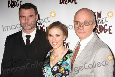 Arthur Miller Photo - New York NY 01-24-2010Liev Schreiber Scarlett Johansson and director Gregory Mosher at the opening night party for Arthur Millers A VIEW FROM THE BRIDGE at EspaceDigital photo by Lane Ericcson-PHOTOlinknet
