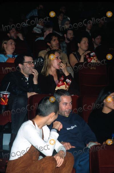 Adam Yauch Photo -  Iron Monkey Screening at Amc Empire 25 in NYC 100901 Uma Thurman (Eating Popcorn) and Adam Yauch (of the Beastie Boys) Photo by Henry McgeeGlobe Photos Inc